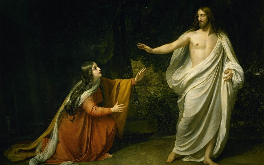 The Risen Jesus brings healing and Consolation